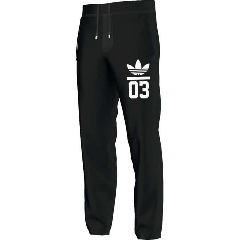 adidas originals 3foil sweatpant jogginghose schwarz mode. Black Bedroom Furniture Sets. Home Design Ideas