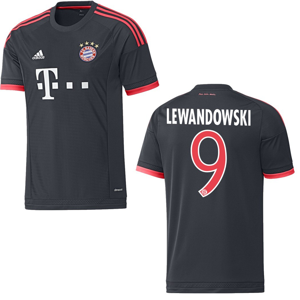 adidas fc bayern m nchen trikot ucl mit flock 2015 2016. Black Bedroom Furniture Sets. Home Design Ideas