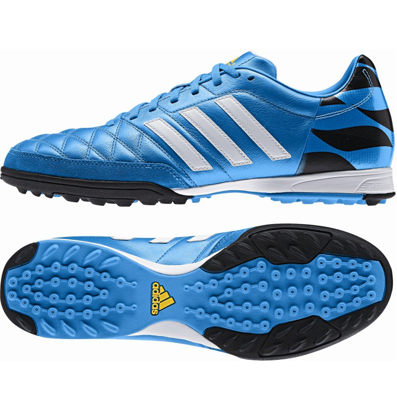 adidas 11nova tf fu ballschuhe multinocken blau wei. Black Bedroom Furniture Sets. Home Design Ideas