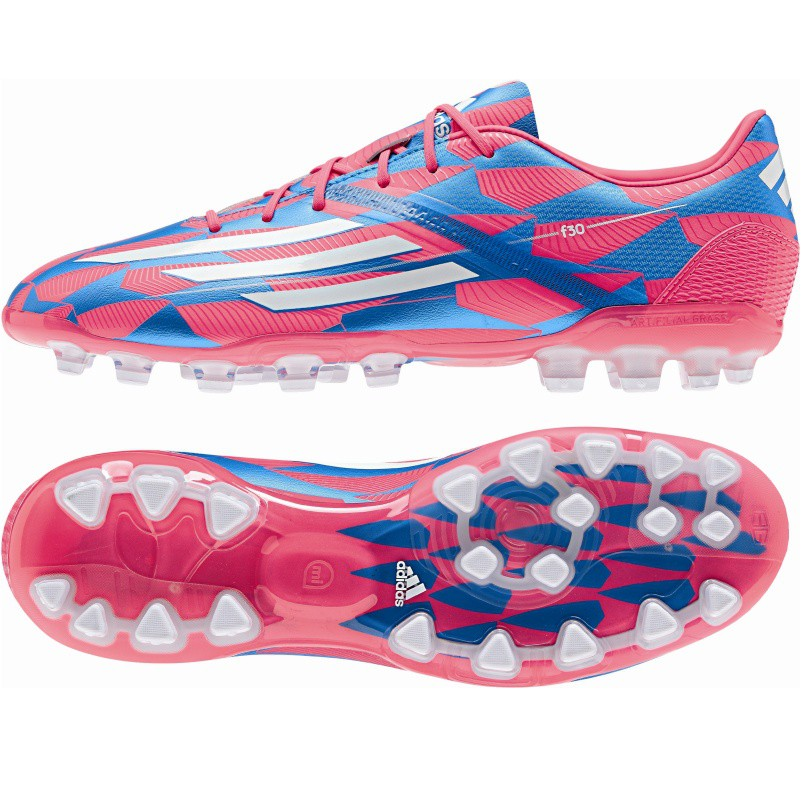 adidas f30 trx ag fu ballschuhe kunstrasen blau pink. Black Bedroom Furniture Sets. Home Design Ideas