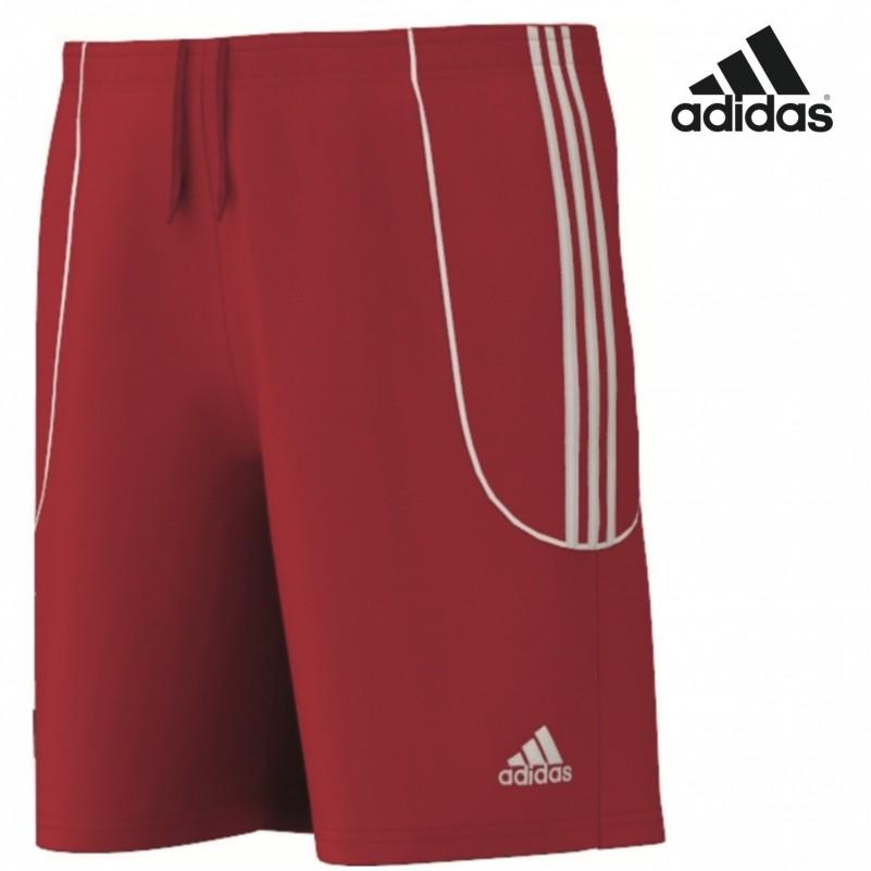 adidas squadra ii short sporthose trikothose mit innenslip rot wei teamwear hosen kurz. Black Bedroom Furniture Sets. Home Design Ideas
