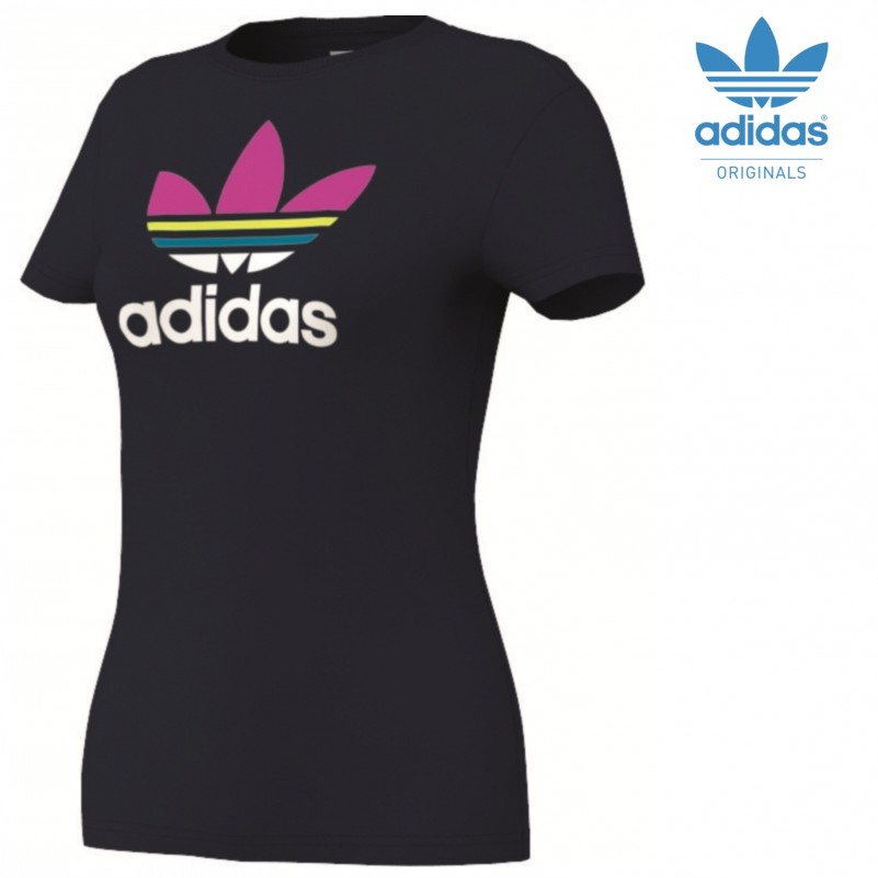 pin adidas trefoil tee wms plutosport on pinterest. Black Bedroom Furniture Sets. Home Design Ideas