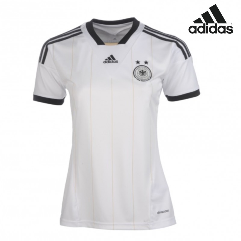 adidas dfb deutschland trikot home damen wei 2013 fanshop. Black Bedroom Furniture Sets. Home Design Ideas