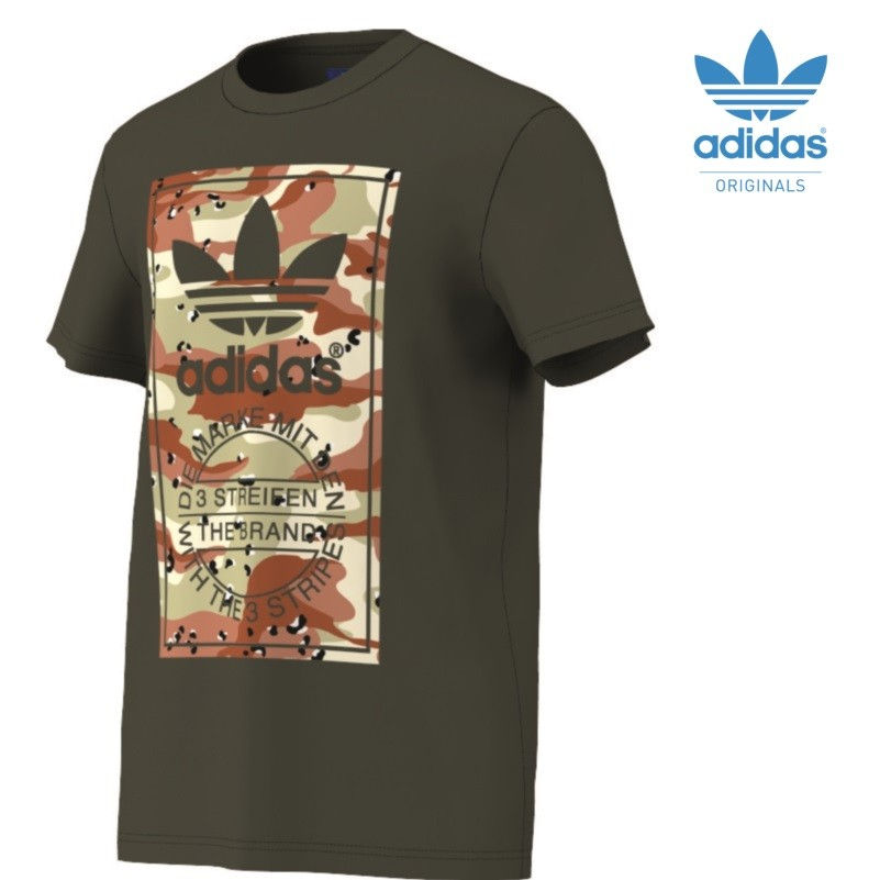 Adidas Camouflage t Shirt Adidas Camouflage Label Tee